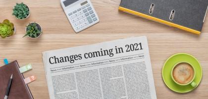 news transition